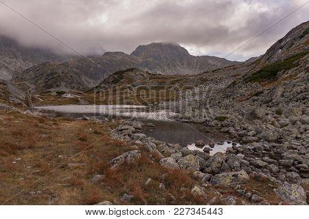 Velka Studena Valley In Autumn. High Tatra Mountains. Slovakia.
