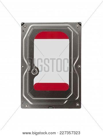 Internal Desktop Hard Drive Isolated On White Background