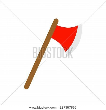 Ax Icon Isolated On White Background. Vector Stock.
