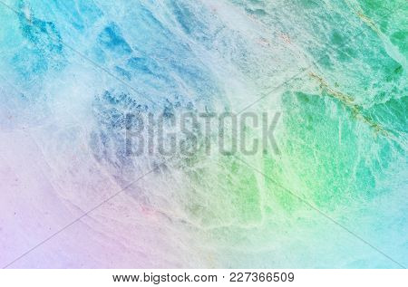 Closeup Surface Abstract Pattern At The Colorful Marble Stone Wall Textured Background
