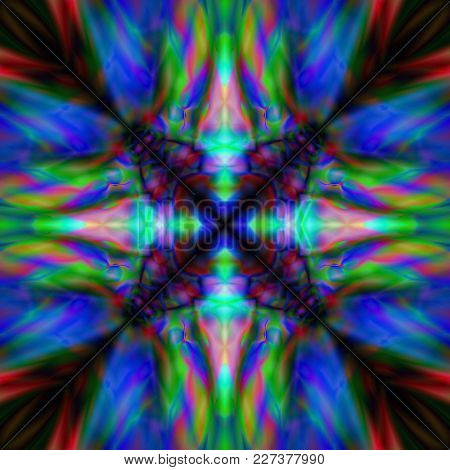 Background On The Basis Of Bright Contrast Colors Arranged Parallel To Each Other