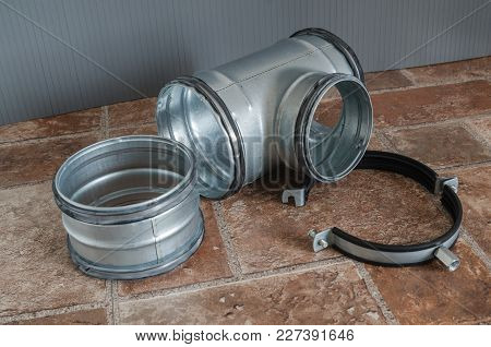 Details Of Installation Ventilation System, Close Up