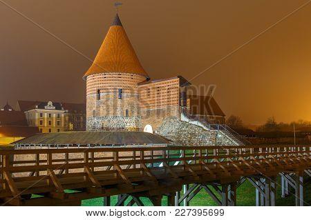 Kaunas Castle, A Medieval Castle Situated In Kaunas.