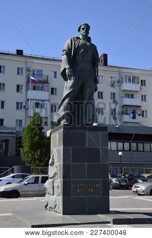 Novorossiysk, Russia - September 9, 2016: Monument To An Unknown Sailor In Novorossiysk