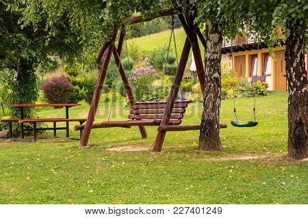 A Hanging Bench
