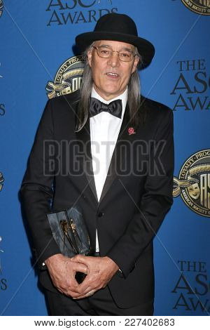 LOS ANGELES - FEB 17:  Russell Carpenter at the 32nd American Society of Cinematographers Awards at Dolby Ballroom on February 17, 2018 in Los Angeles, CA