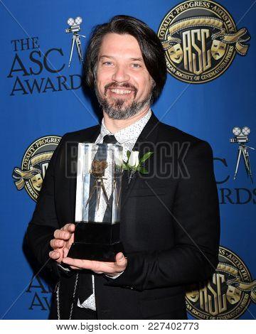 LOS ANGELES - FEB 17:  Boris Mojsovski at the 32nd American Society of Cinematographers Awards at Dolby Ballroom on February 17, 2018 in Los Angeles, CA