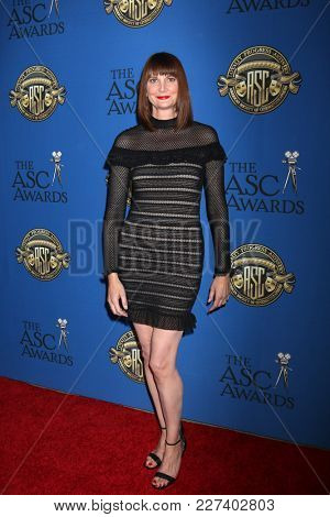 LOS ANGELES - FEB 17:  Kerri Kenney-Silver at the 32nd American Society of Cinematographers Awards at Dolby Ballroom on February 17, 2018 in Los Angeles, CA