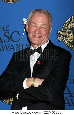 LOS ANGELES - FEB 17:  Kees van Oostrum at the 32nd American Society of Cinematographers Awards at Dolby Ballroom on February 17, 2018 in Los Angeles, CA