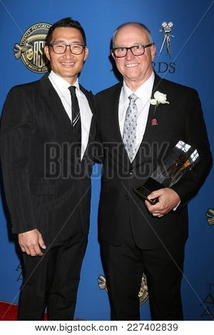LOS ANGELES - FEB 17:  Daniel Dae Kim, Alan Caso at the 32nd American Society of Cinematographers Awards at Dolby Ballroom on February 17, 2018 in Los Angeles, CA