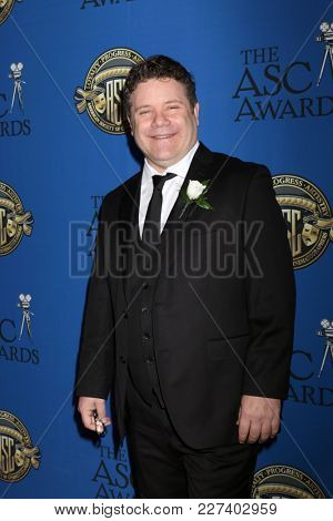 LOS ANGELES - FEB 17:  Sean Astin at the 32nd American Society of Cinematographers Awards at Dolby Ballroom on February 17, 2018 in Los Angeles, CA