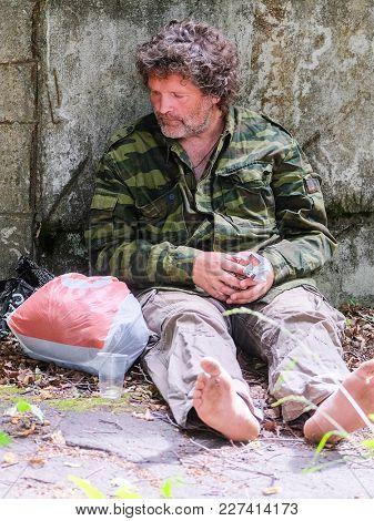 Portait of a beggar