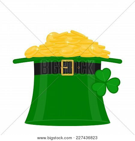 St Patrick's Hat With Gold