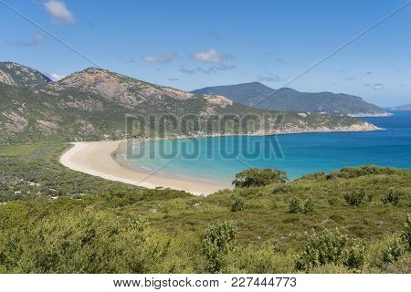 Norman Bay At Wilson Promontory In Gippsland Of Victoria, Australia