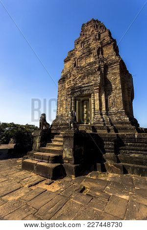East Mebon Angkor Wat Siem Reap Cambodia South East Asia Is A 10th Century Temple At Angkor, Cambodi