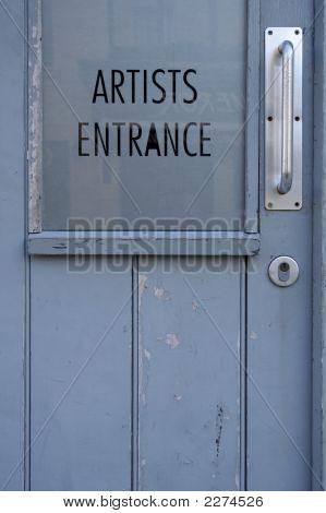 Artists Entrance