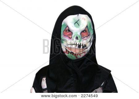 Halloween. Child/ Teen In A Halloween Costume