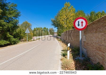 Priority Pass Signal In Narrow Rural Road