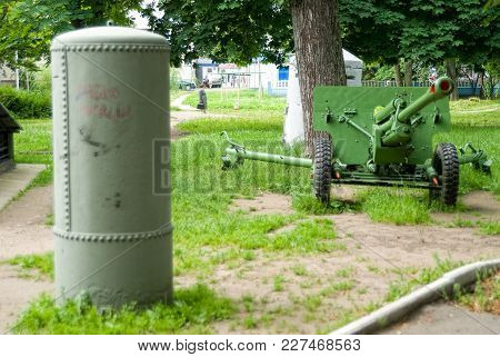 Kaliningrad, Russia - July 1, 2010: Entrance To The Museum-bunker, Where Was Signed The Capitulation