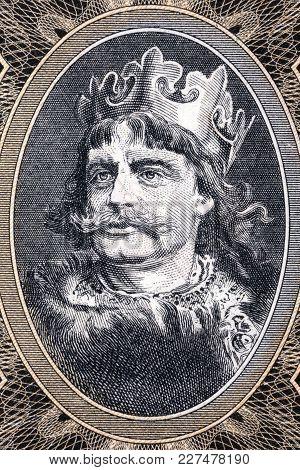 Boleslaw I The Brave Portrait From Polish Money
