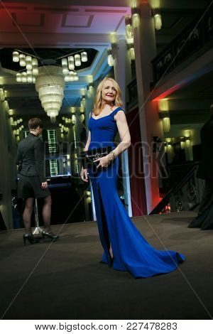 Patricia Clarkson attends the 'The Bookshop' premiere during the 68th Berlinale International Film Festival Berlin at Friedrichstadtpalast on February 16, 2018 in Berlin, Germany.
