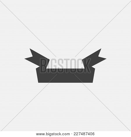 Banner Icon Vector Illustration. Ribbon Icon Vector