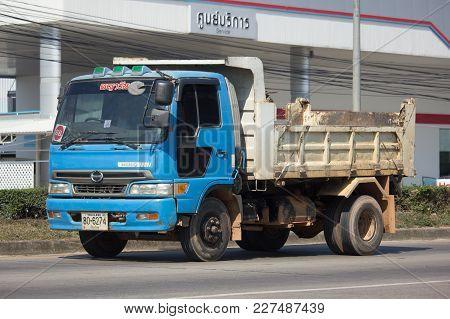 Private Hino 6 Wheel Dump Truck.
