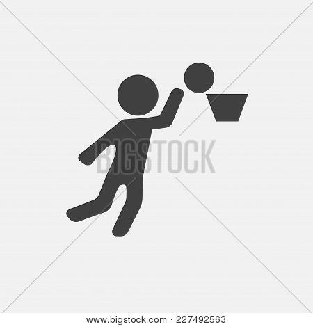 Basketball Icon Vector Illustration. Sport Icon Vector