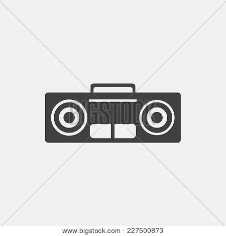 Volume Icon Vector Illustration. Audio Icon Vector