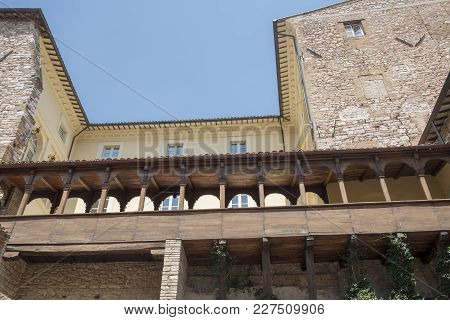 Historic Buildings Of Spello, Medieval City (perugia, Umbria, Italy)