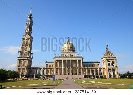 Poland Landmark - Basilica Of Our Lady Of Sorrows In Lichen (in Polish: Bazylika Matki Bozej Bolesne