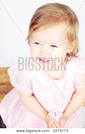 Baby Girl In Dress