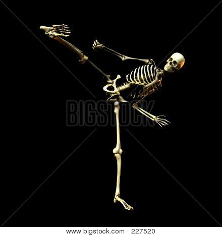 Fighting Skeleton