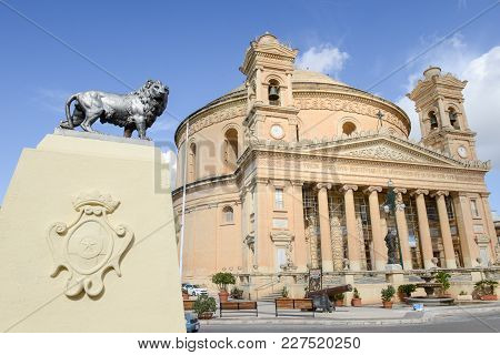 Church Of The Assumption Of Our Lady At Mosta, Malta