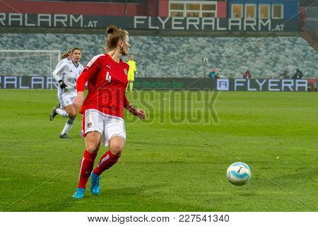 Moedling, Austria, 23th November 2017: Fifa Wm Qualification Ladies Austria Vs Isreal