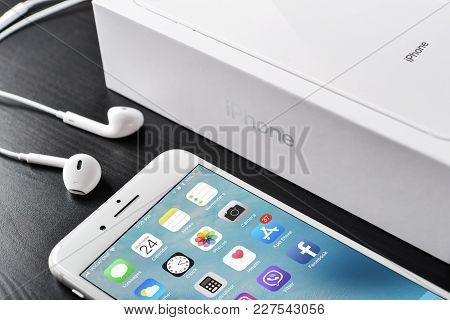 Apple Iphone 8 Plus Silver
