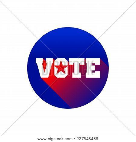Creative Vote Pin Star Vector Graphic Design