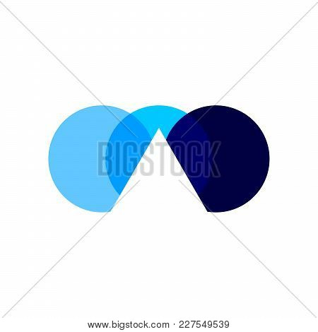 Intersection Shades Symbol Vector Graphic Logo Design