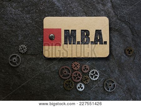 Mba And Gears