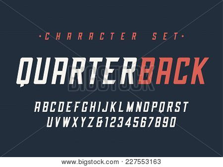 Vector Condensed Italic Dynamic Display Font Design, Alphabet, Character Set, Typeface, Typography,