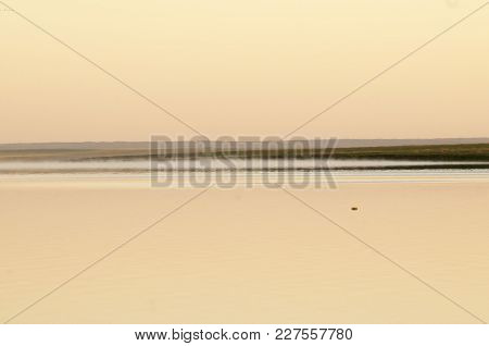The Endless Don Steppe. Landscape On The Banks Of The River