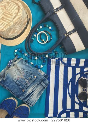 Summer Wear, Clothes, Hat, Jewelry And Accessories