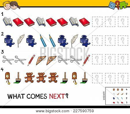 Complete The Pattern With Objects Game