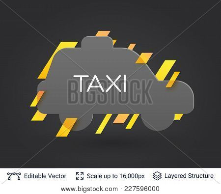 Stylish Label Design Easy To Edit. Vector Illustration.