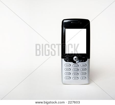Mobile Phone With Space For Text