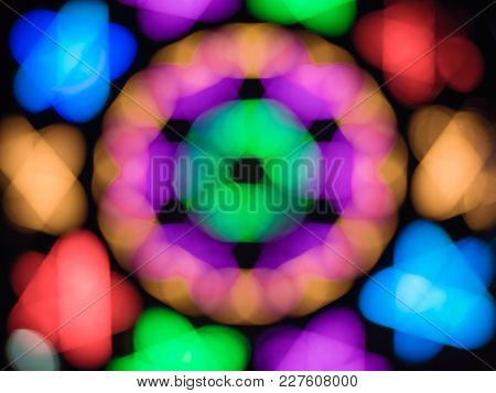 Colorful Blurred Light Abstract Background Use Us Pretty Copy Spaces As Text Contemporary Backdrop D