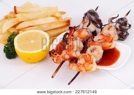 Seafood Satay, Seafood Restaurant Menu, Seafood Menu