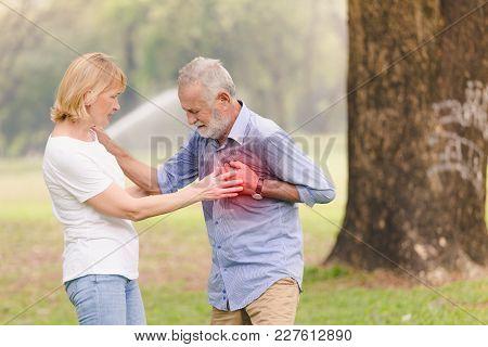 Senior Men Cardiac Arrest Heart