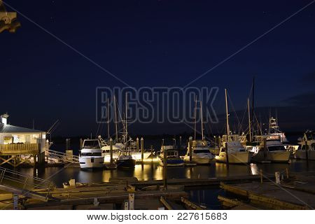 Harbor Full Of Boat In San Augustine