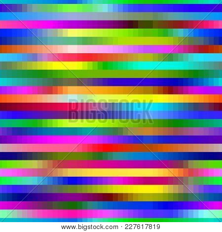Glitch Background Vector Glitchy Noisy Pixelated Texture Pattern Tv Broken Computer Screen With Nois